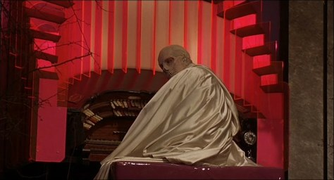 Dr Phibes in his organ