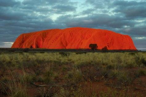 Uluru-at-sunset